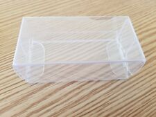 Hotwheels Display Storage Box Plastic Transparent 10 Pack