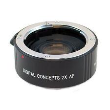 2X AF Teleconverter Lens for Nikon D3200 D5200 D5300 D5100 D7100 D7000
