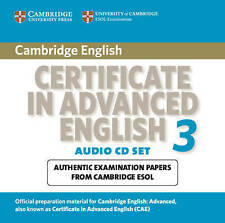 Cambridge Certificate in Advanced English 3 for Updated Exam Audio CDs (2): Exam