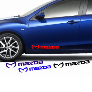 Evil M Mazda Decal For Side Door Vinyl Stickers Graphics Emblem Mazda 3 5 6 CX-9