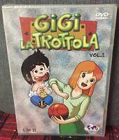 Gigi La Trottola Volume 1 Episodi dal 1 al 6 DVD Nuovo Cellophane nn Perfetto