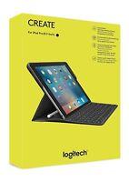 Logitech iPad Pro 9.7 Étui Clavier Create Rétroéclairé sans fil Smart QUERTY