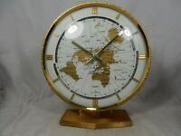 Grosse KUNDO  Weltzeituhr Tisch Uhr world timer  table clock  Elvis Graceland