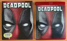 Deadpool Red Blu-ray Case W/Slipcover