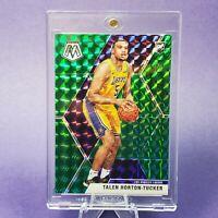 ROOKIE HOLO GREEN PURPLE PRIZM Talen Horton Tucker Lakers CARD -INVEST -w/ CASE
