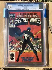 Marvel Super Heroes Secret Wars #8 CGC 9.4 First symbiote White Pages 1984