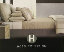 HOTEL COLLECTION REGAL STRIPE QUILTED KING SHAM NEW OUT OF PACKAGE