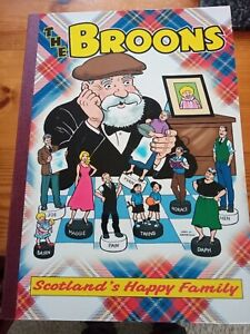 THE BROONS x4 plus THE BROONS and OOR WULLIE THE FABULOUS FIFTIES H/B