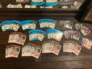 (130) LOT Will Clark RC Rookie 1986 Topps Traded Fleer Update 1987 Fleer Donruss
