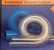 1-1/2''ID CVD CLEAR PVC HOSE/DUCTING WITH WIRE HELIX, 25 FT