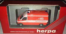 """herpa 042604 – MB Sprinter RTW """"Feuerwehr Frankfurt a. Main"""", H0 1:87, neu + OVP"""