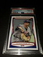 2010 Topps USA Baseball #USA-25 - Gerrit Cole Rookie Card PSA GEM MINT 10!