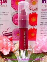 Clinique Chubby Stick Intense Moisturizing Lip #07◆Super Strawberry◆1.2g◆FREE/P!