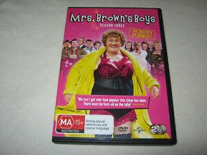 Mrs. Brown's Boys - Season 3 - VGC - DVD - R4