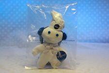 Pillsbury DOUGHBOY Mini Beanbag Magnet Dough Boy Earmuffs Soft Collectible NEW