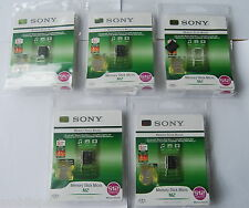 5 x Sony 512mb M2 Memory Stick Micro for C902 C905 K800i K770i W890i W960i W995i
