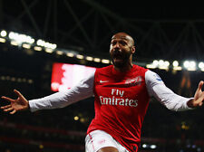 Thierry Henry Wonder Goal Against Leeds 10x8 Photo