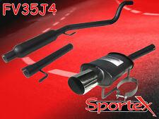Sportex Vauxhall Astra mk5 performance exhaust system