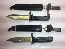 Vintage Military East Germany and Yougoslavian Knives / Bayonets,scabbards