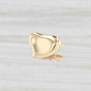 Single Tiffany & Co Peretti Nugget Earring 18k Yellow Gold Pierced Stud