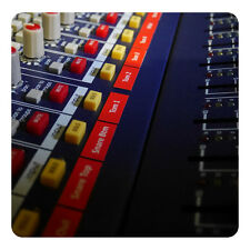 Custom size and text mixer (console) magnetic labels (tags)