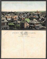 Old Pennsylvania Postcard - Butler - Bird's Eye View Looking East