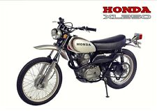 HONDA XL250 MOTORSPORT FULL PAINTWORK DECAL KIT