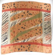 "Liz Claiborne Ladies Knit Shawl 30"" X 30"" Multi-Color Geometric"