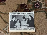 k2-2  ephemera 1966 picture thanet i morris m l simpson rita brear designs award