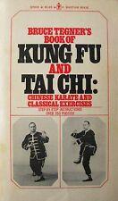 BRUCE TEGNER'S BOOK OF KUNG FU AND TAI CHI BLACK BELT KARATE MARTIAL ARTS