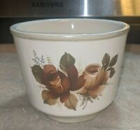 Vintage Rose Pattern California Originals Flower Pot