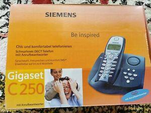 SIEMENS GIGASET C 250 - Schnurlostelefon Anrufbeantworter schnurloses Telefon