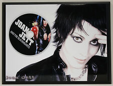 JOAN JETT Limited Edition Picture Disc Poster Art Display Free Shipping