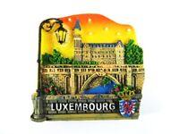 Luxemburg Pont Adolphe Poly Fridge Magnet Souvenir Luxembourg