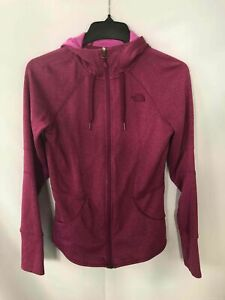 The North Face Pink Zip-Up Hoodie - Women's Size Medium
