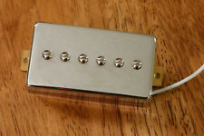 HUMBUCKER SIZED P90 NECK PICKUP ALNICO 5 MAGNETS IN CHROME