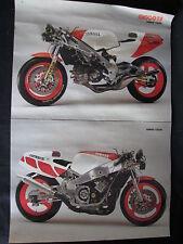 Dubbelposter Marlboro Yamaha YZR500 & Yamaha FZR750 (Folded)