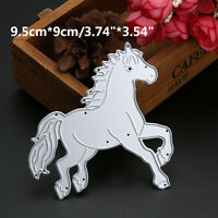 Metal Cutting Dies Love Cartoon Horse Scrapbook Album Paper Decoration Crafts