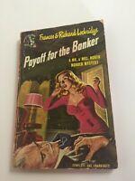 Payoff The Banker by Frances & Richard Lockridge Pulp Pocket Book 1948