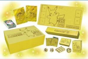 Pre-order Pokemon Card Sword & Shield 25th ANNIVERSARY GOLDEN BOX JAPAN F/S