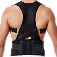 Posture Corrector Shoulder Brace Lumbar Back Support Belt Men Women Adjustable