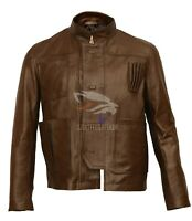 Harrison Ford Han Solo Star Wars the Force Awakens Leather Jacket - BNWT