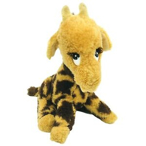 "Vintage Dakin Josie Giraffe Plush 8"" Stuffed Animal Rare 1980s Plush Toy 1983"