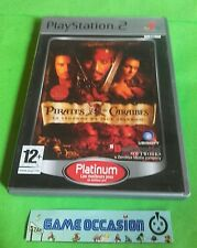 PIRATES DES CARAÏBES LA LEGENDE DE JACK SPARROW SONY PLAYSTATION 2 PS2 PAL