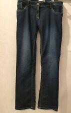 Jean WOMEN ONLY T44 - Jean bleu coton élasthanne taille basse (1911056)