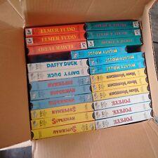 Lot of VHS Rare Cartoons Sealed