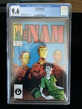1987 Marvel The 'Nam #9, 8/87, CGC 9.6 Off-White To White Pages, 6021