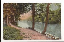 Fargo ND Red River Banks 1914 DB Post Card