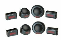 "4) BOSS TW-15 500W 1"" Micro Dome Car Audio Tweeters + External Crossovers TW15B"