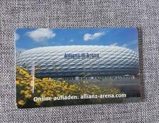 Allianz Arena Card * von 2018/2019 * für Sammler ohne Guthaben